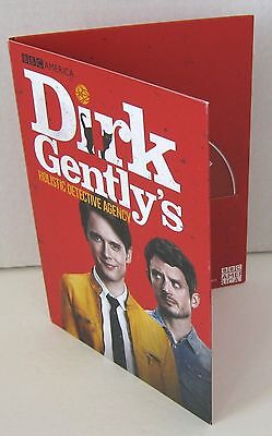 BBC AMERICA Dirk Gently Promo DVD Episodes 1-3 2016