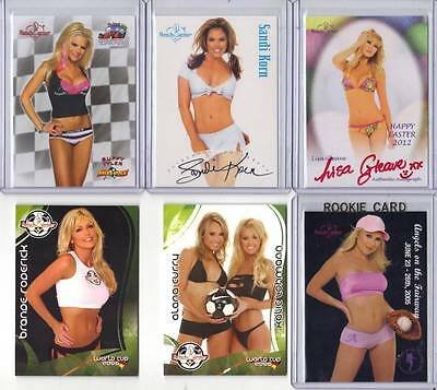 Alana Curry Kalie Lohmann World Cup 2006 Benchwarmer #h79