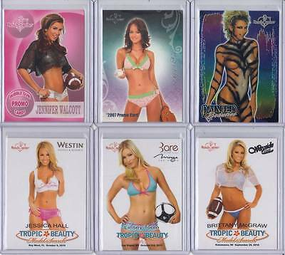 April Scott 2007 Benchwarmer Promo Card No#