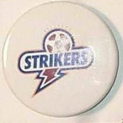 Brisbane Strikers Australia Football Club Official Old Pin Button