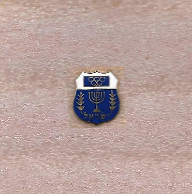 Noc Of Israel Olympic Official Pin Very Old
