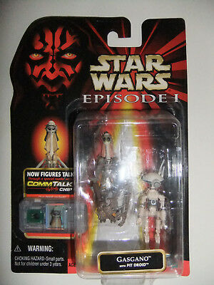 Star Wars Gasgano with Pit Droid Episode 1 Commtalk Chip