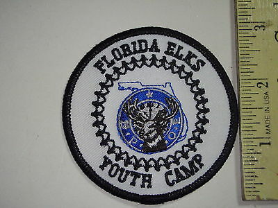 Florida Elks Youth Camp   Patch    Bx L 97