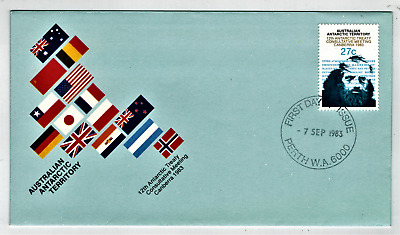Australia Antarctic Territory, 1983-4, 5 x First Day Covers