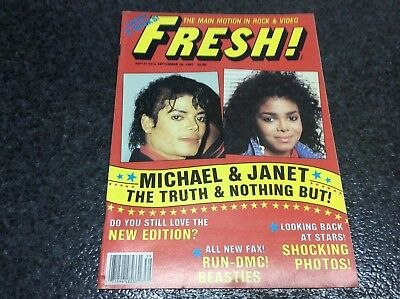 Fresh ! Nº 26 -Michael Jackson  & Janet , The Truth & Nothing