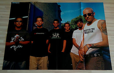 Giant LINKIN PARK CHESTER BENNINGTON poster from Germany Europe RARE HUGE