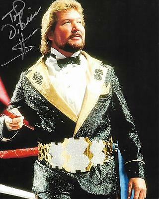 Ted DiBiase The Million Dollar Man Money Inc. WWF WWE Signed 8x10 Photo #3 w/COA