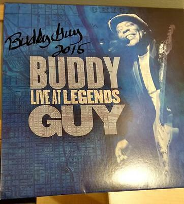 Buddy Guy Live at Legends Blues 2LP Colored Vinyl Record © 2012 Signed COA LCC
