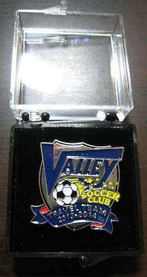 Valley Football Soccer Club Usa Travel Team 2013-2014 Laple Pin In The Box