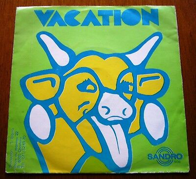 "VACATION 7""45 I Can't Bear Pain / I Wake Up BELGIAN PROG ROCK 1972 1st PRESSING"