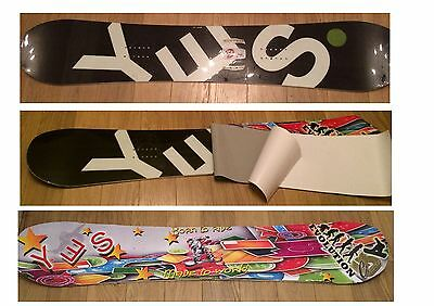 Snowboard vinyl wrap / sticker / Not Burton Salomon K2 Quicksilver Forum