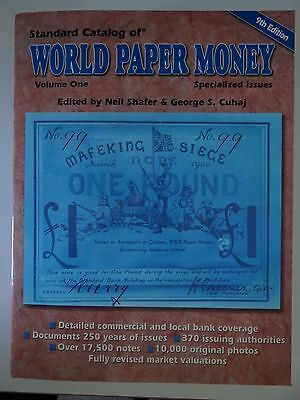Standard Catalog of World Paper Money spezialized issues 9th edition vol. 1