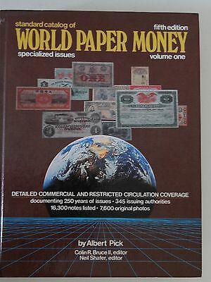 Standard Catalog of World Paper Money spezialized issues 5th edition vol. 1