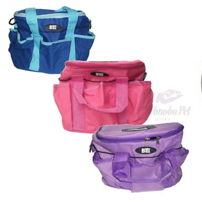 BITZ GROOMING BAG practical Bag Dog Hold grooming kit in style Pink Blue Lilac