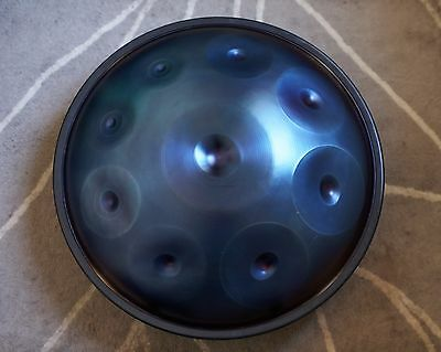 PANTHEON STEEL HALO AG handpan  - Khartoum ( Shicie)  like NEW