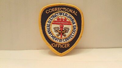 Department Of Corrections District Columbia Color Patch