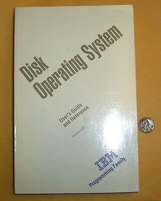 1992 Vintage Disk Operating System User's Guide and Reference Version 5.02 IBM