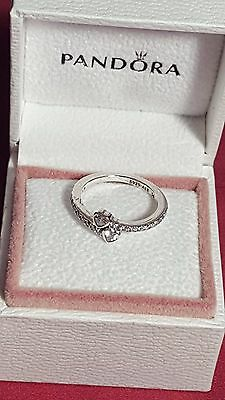 Pandora Forever Hearts  Ring. Sterling Silver S925 ALE
