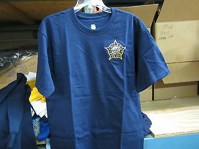 Chicago  Police Embroidered T-Shirt  X-Large