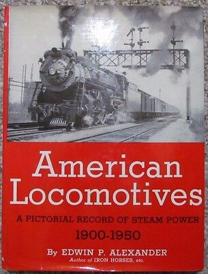 American Locomotives 1900-1950 Reference Book