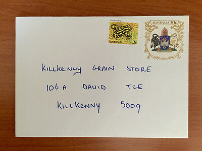 Coat of Arms: Canberra & NSW  30c 1983 Pre Stamped Envelopes Pair