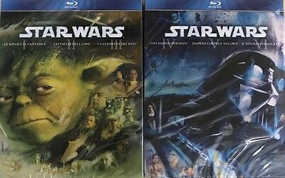 Star Wars Prequel & Original Trilogy Bluray