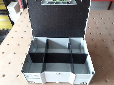 6 Compartment Insert for Tanos / Festool  T-Loc 2 Systainer