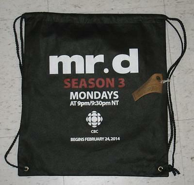 GERRY DEE MR. D TOUR SEASON 3 CBC MONDAYS TV LARGE BACKPACK NEW w/TAG