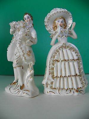 Relco Reproductions Japan Colonial couple bone china