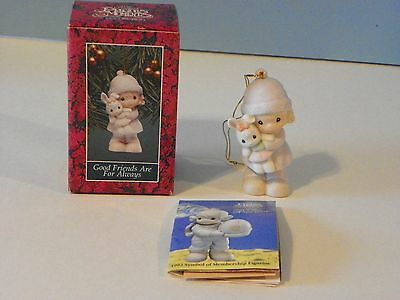 "Precious Moments # 524131 "" Good friends are for always "" original box"