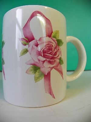 Breast cancer Awareness Crusade coffee mug by Avon