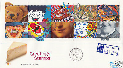 1991 Greetings (Mar) - RM - Constable Road CDS