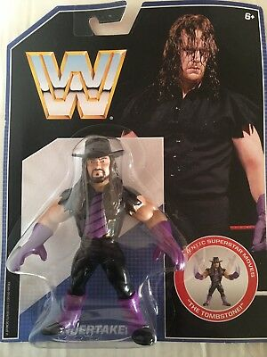 WWE Retro The Undertaker Mattel WWF MOC Wrestling Figure Series 1