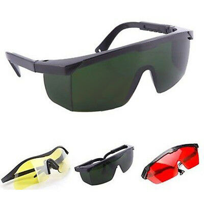 Multicolor Laser Eye Glasses Protection Safety Goggles Large Polycarbonate Lens