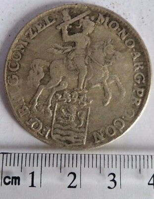 Netherlands 1793 Ducatoon (dutch silver rider) Trade coin Re-strike