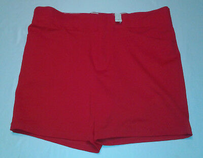 VTG 80s Russell Athletic Red Coaches Gym coach shorts USA Size 40 NWT deadstock