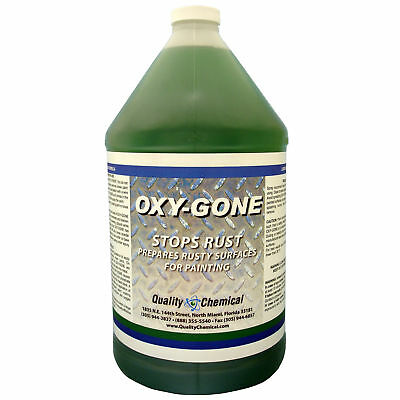 Oxy-Gone Rust Remover and Metal Treatement - 1 gallon