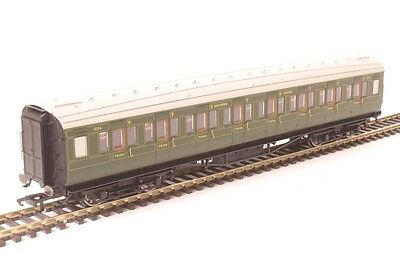 Hornby R4769 Maunsell Corridor Third 1224 in SR Olive Green- Aust Warranty
