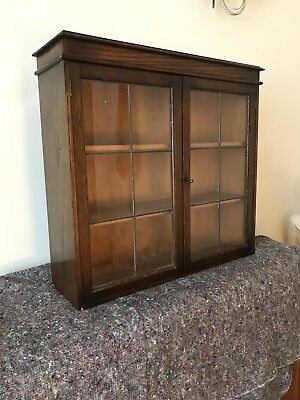 Vintage Bookcase Cabinet, Medical Cabinet , Delivery Available