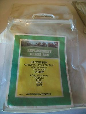 JACOBSEN Replacement Grass Bag # 519007 For Lawn King models 31921,32008,42186