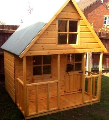 Shedrite's 6X6 Mini Swiss Playhouse Made Using T&g