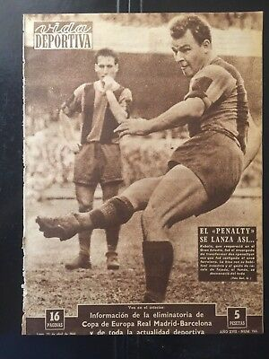 1959-60 European Cup.Semi-finals.Real Madrid,3 - Fc Barcelona, 1. 1st leg