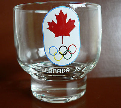 Lot of 6 Vintage 1976 Olympic Olympics CANADA '76 Old Fashioned Glasses 4 oz VGC