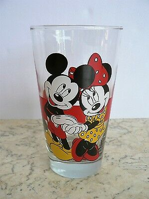 Anchor Hocking DISNEY Mickey & Minnie Mouse GLASS