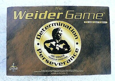 The WEIDER Game 100% Complete Nutrition Bodybuilding Weightlifting Perseverance