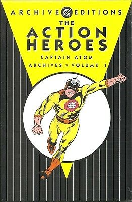 Captain Atom Archives - Dc Archive Editions - The Action Heroes - Vol 1 - Ditko
