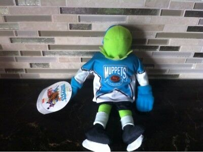 Kermit the Frog Muppets NHL Conference plush toy Jim Henson with TagBy