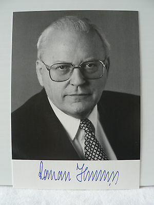 ROMAN HERZOG President  of Germany AUTOGRAPH SIGNED PHOTO