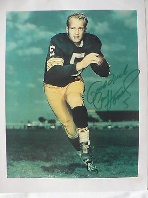 PAUL HORNUNG Football Player  AUTOGRAPH SIGNED Picture Print