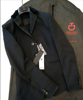 Cavalleria Toscana Mens Chic Competition Jackets Black Size 34 - 42